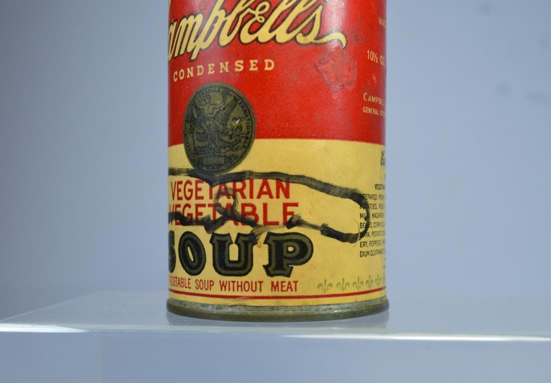 ANDY WARHOL SIGNED CAMPBELL'S SOUP CAN - 3