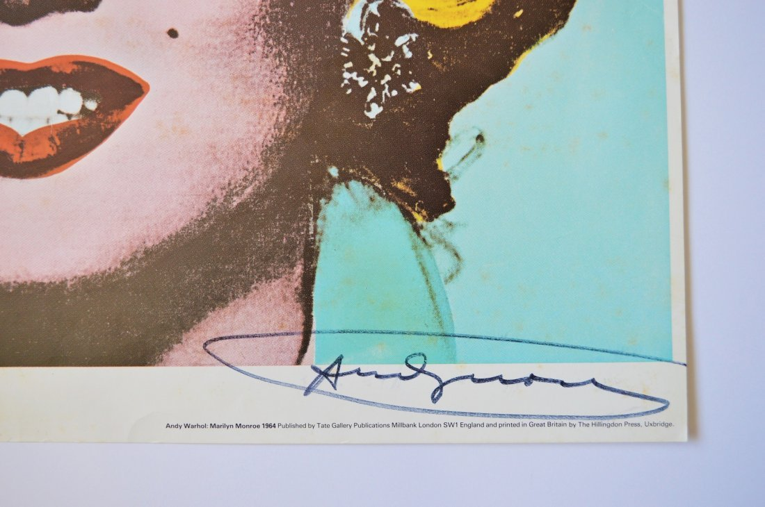 ANDY WARHOL TATE GALLERY EXHIBITION POSTER 1971 - 3