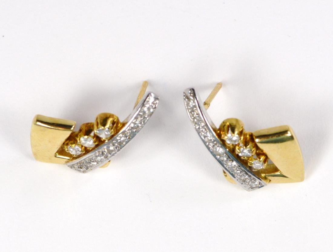EARRINGS 14 KT GOLD - 2