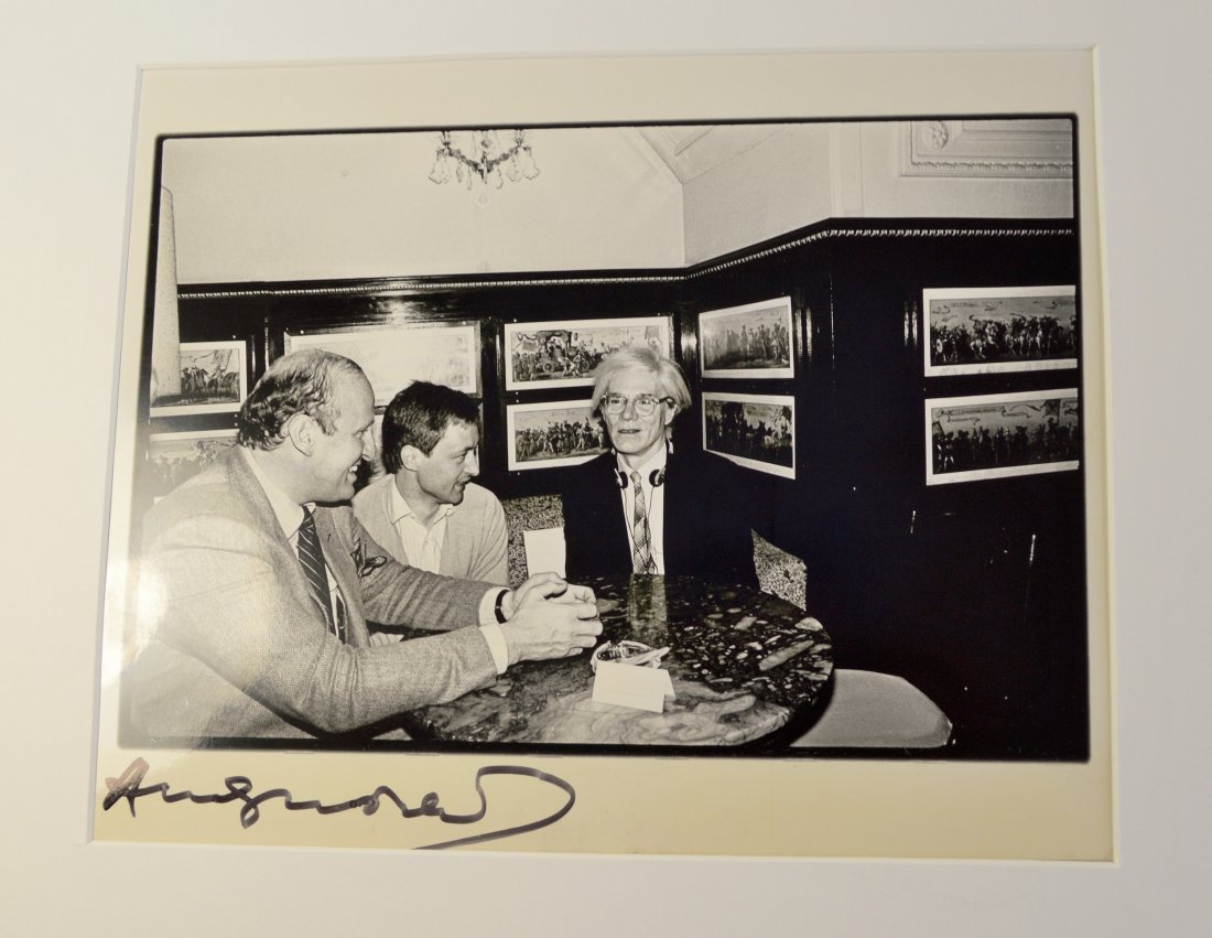 ANDY WARHOL VINTAGE PHOTOGRAPH - 2