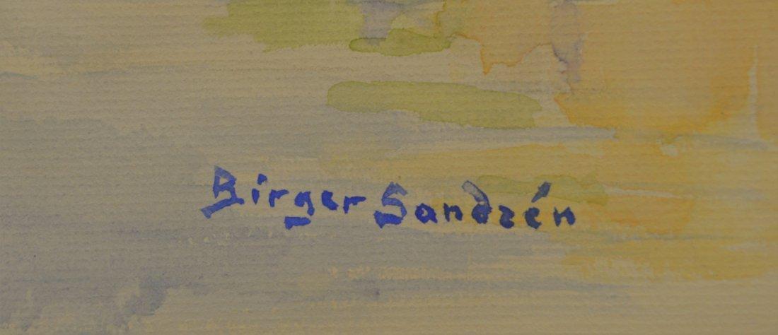 WATERCOLOR ON PAPER BIRGER SANDZEN (ATTR) - 2