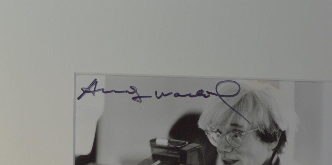 ANDY WARHOL VINTAGE ORIGINAL PHOTOGRAPH - 3