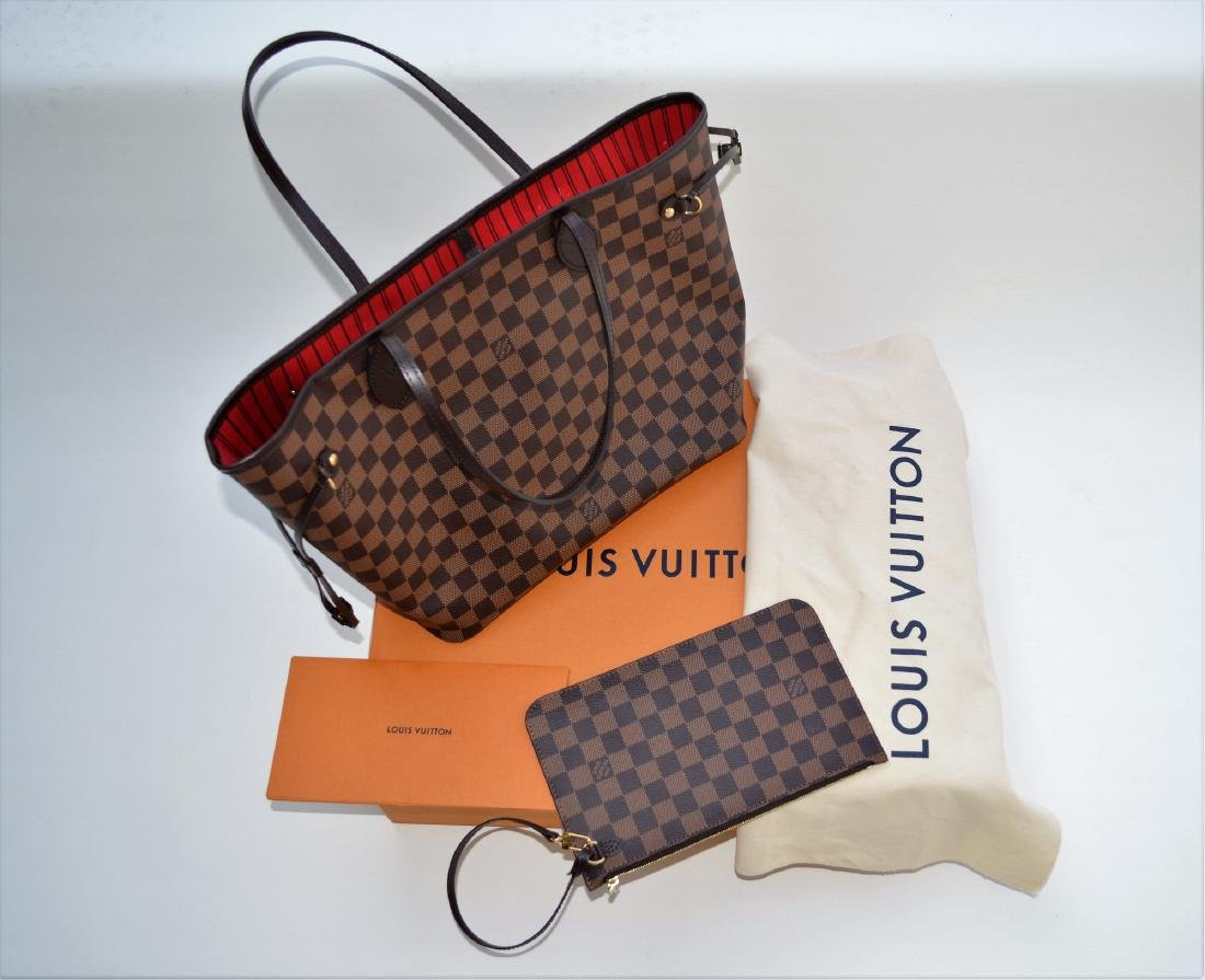 LOUIS VUITTON DAUMIER NEVERFULL MM UNUSED NEW