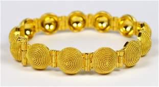 22 KT GOLD BRACELET NEW