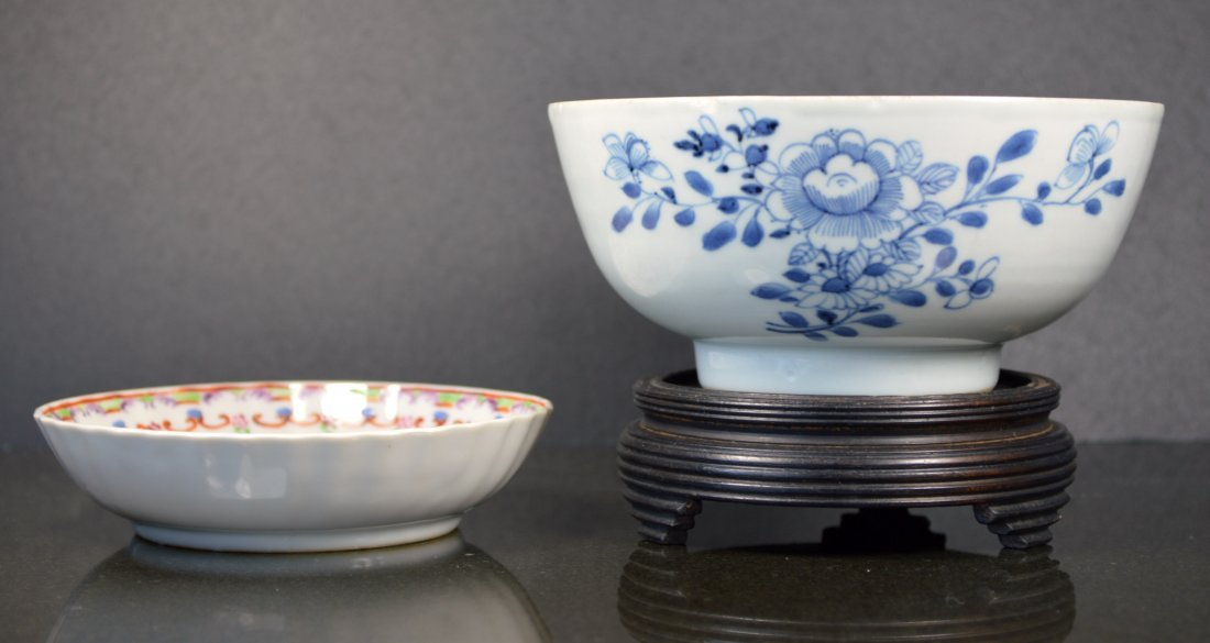 LOT OF CHINESE PORCELAIN BOWLS 18TH 19TH C