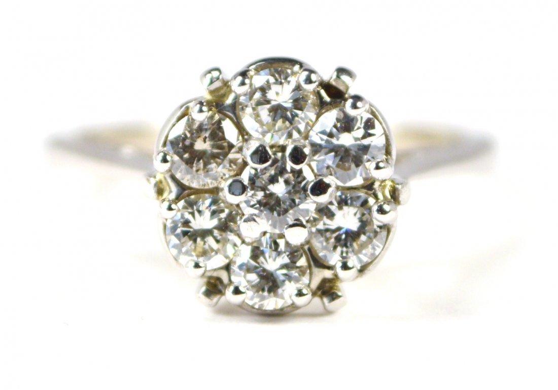 RING 18 KT GOLD, DIAMONDS