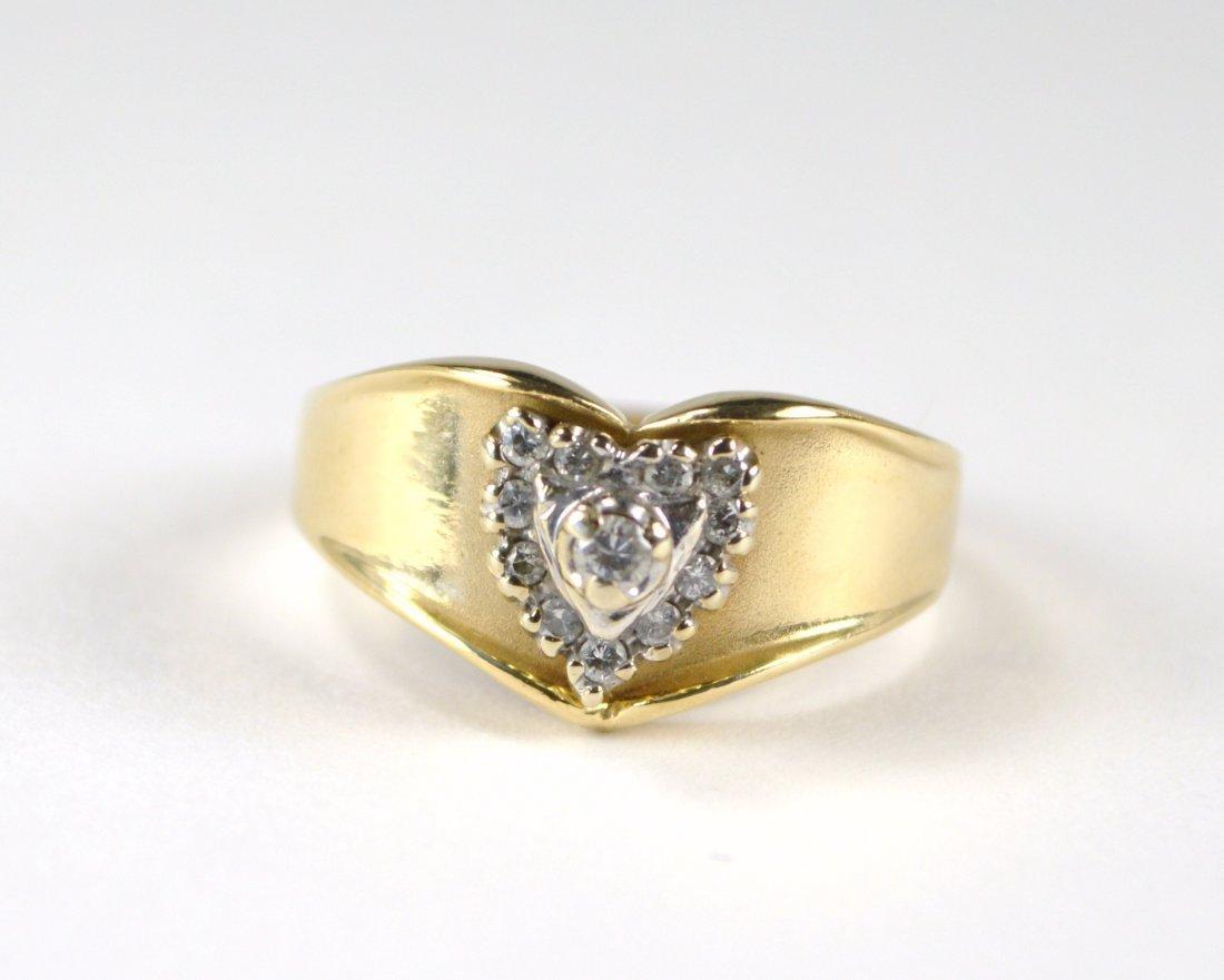 RING, 14 KT GOLD