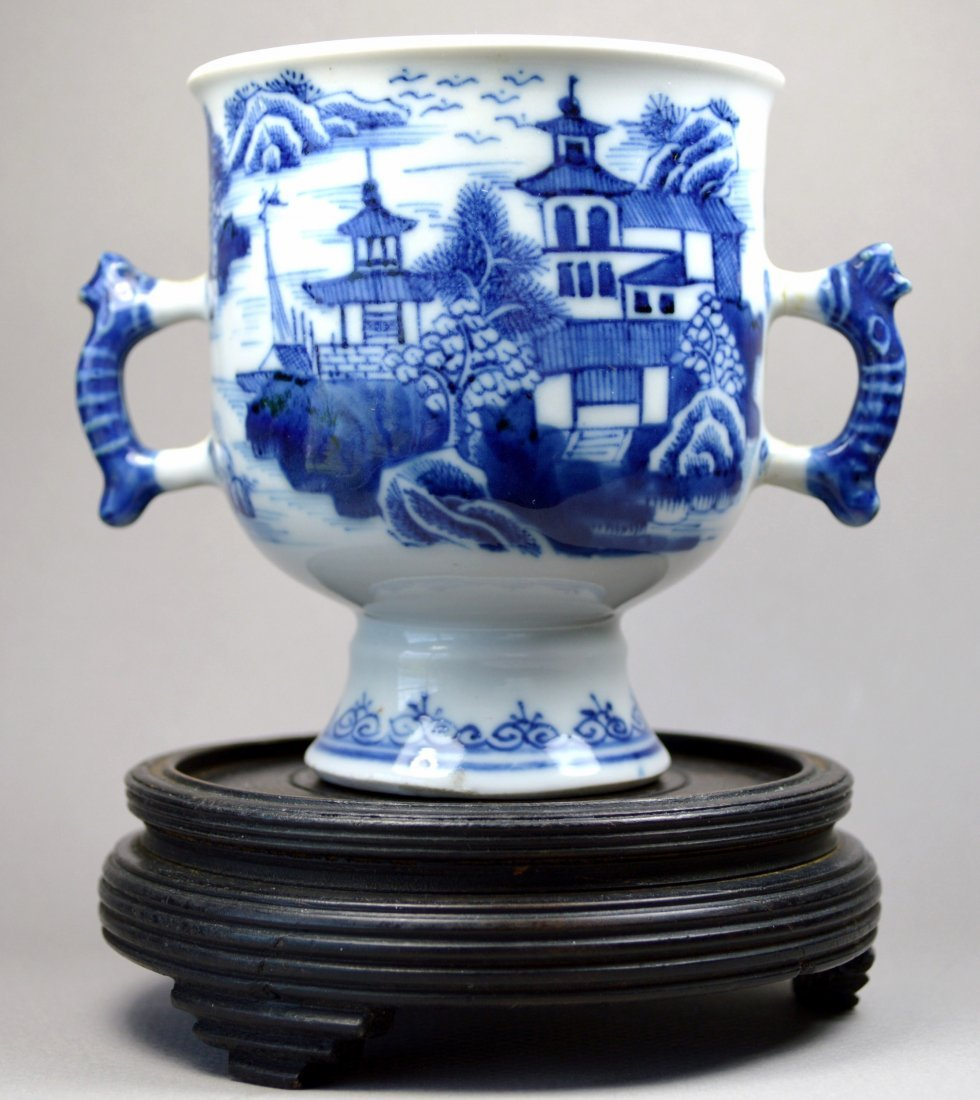 CHINESE 18TH C PORCELAIN CUP