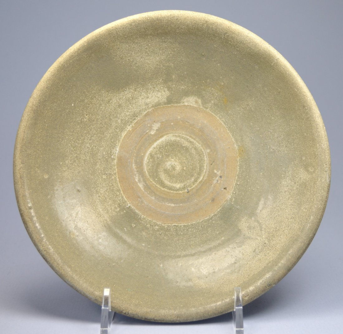 CHINESE VERY OLD GLAZED BOWL, PERFECT 16-17TH C