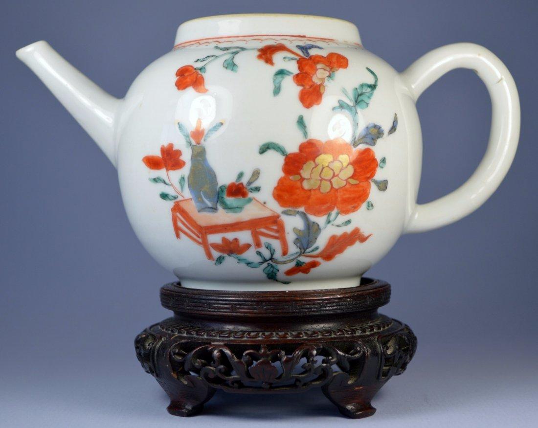 CHINESE QIANLONG TEAPOT CA. 1840'S
