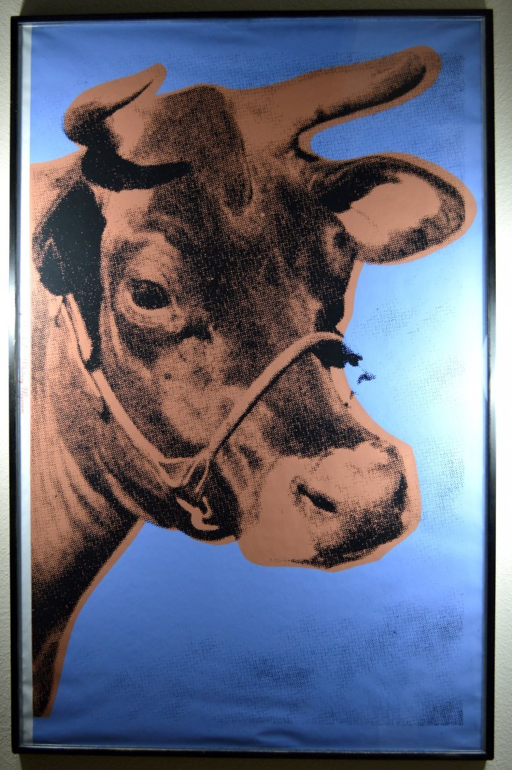 ANDY WARHOL COW WALLPAPER F&S 11.A