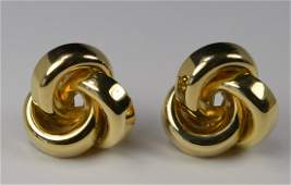 EARRINGS 14 KT GOLD