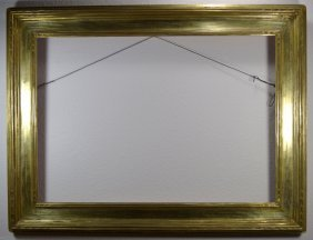White Gilt Arts Crafts Newcomb Macklin Style Period