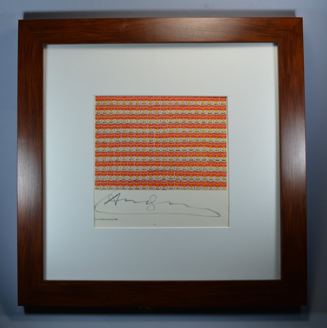 ANDY WARHOL VINTAGE LITHOGRAPH. - 3