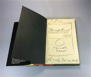 PHILOSOPHY OF ANDY WARHOL BOOK