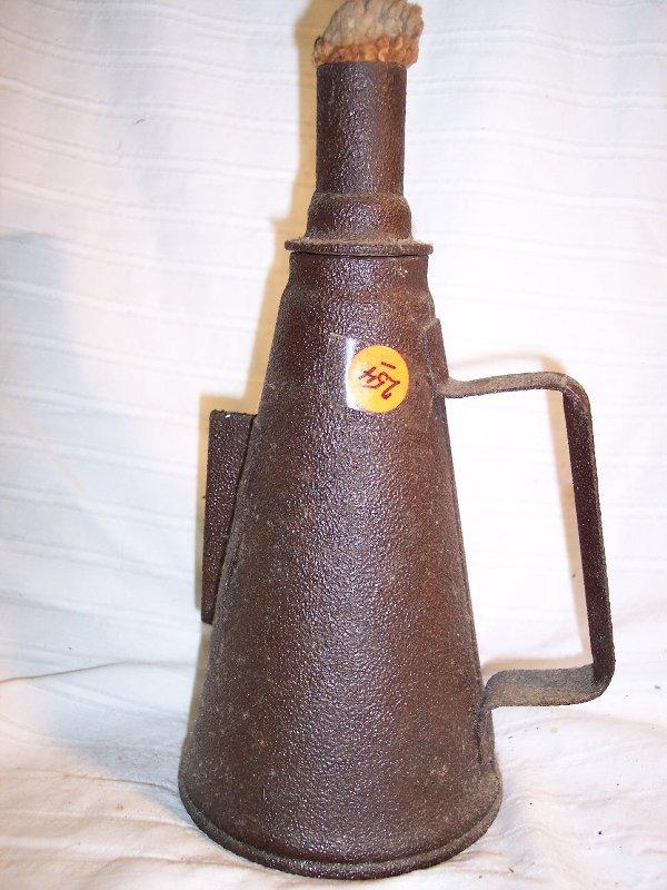 2002: B & O RR torch