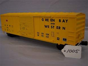Weaver Green Bay and Western Scale Boxcar