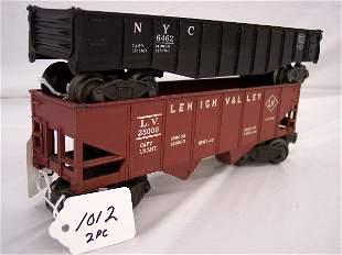 Lionel 6462 Gondola and 6456 hopper