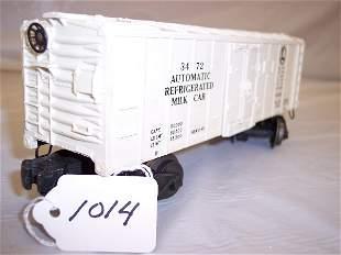 Lionel 3472 automatic milk car