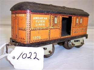 American Flyer Prewar 1205 Post Office car