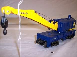 Lionel 9348 santa fe crane car
