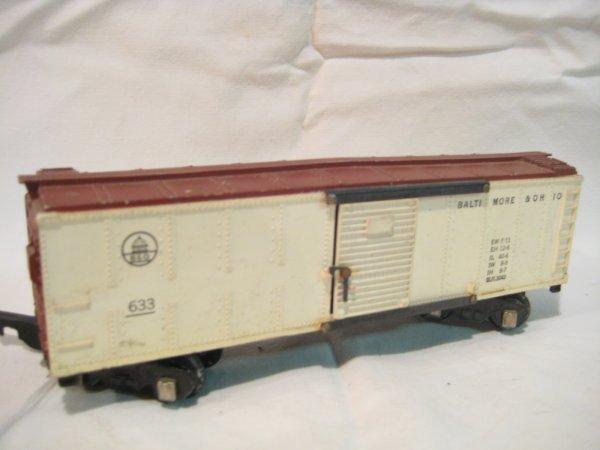 1022: B&O Boxcar