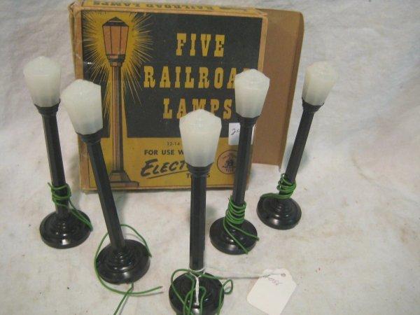 2056: Colber Railroad Lamps 5 # 117
