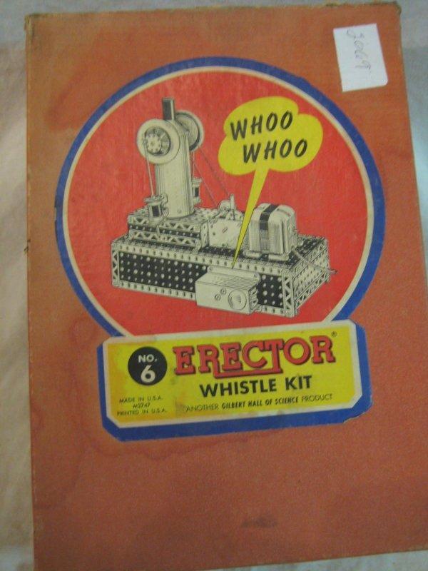 2069: Erector Whistle Kit, box # 6