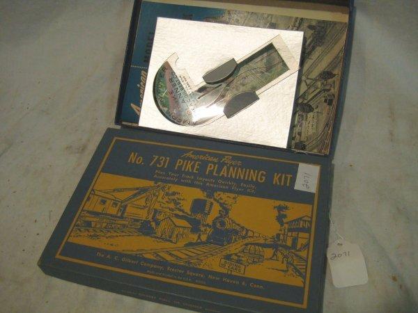 2071: Pike Planning Kit, box # 731