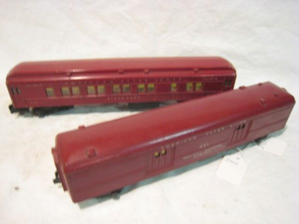 2316: #951 & 952 NH Baggage Car, Heavyweight Pullman