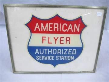 2445: Authorized Service Station Emblem in Frame