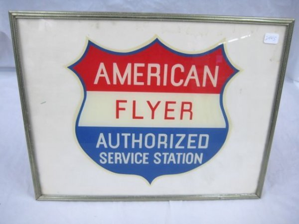 2445: Authorized Service Station Emblem in Frame