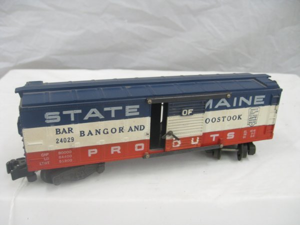 2553: #24049 State of Maine Box Car
