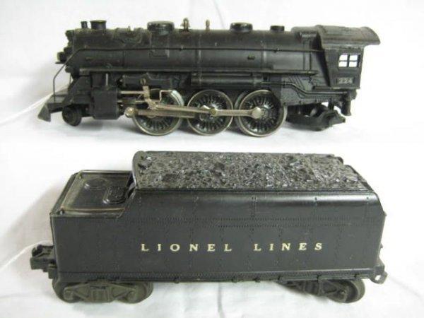 7004: 224 Steam 2-62 2466T Tender 45-46