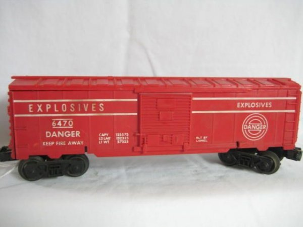 7008: 6470 Explosives box car 59-60