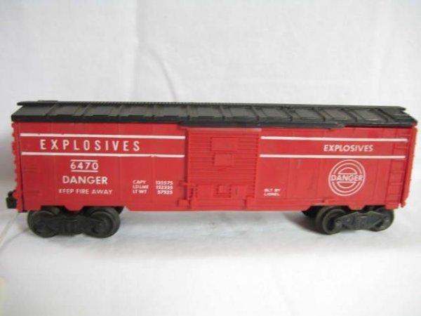 7009: 6470 Explosives Boxcar