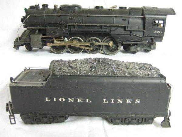 7057: 726 Steam 2-8-4 Berkshire/2426W Tender