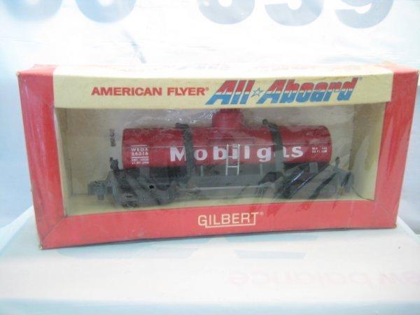 2831: #24316 All aboard Mobilgas tank car