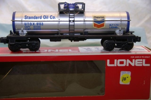 1008: #9153 Chevron Tank Car