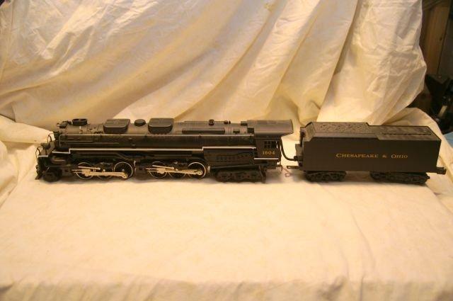 1061: 20-1117 lp rail king c  & o allegheny