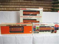 8133: Lionel southern pacific daylight pass set