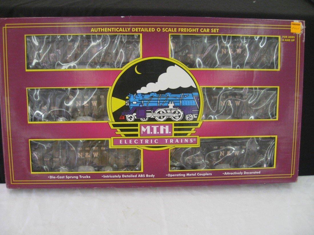 8005: MTH 4 Bay Hopper w/ Coal Load 6 Car Set