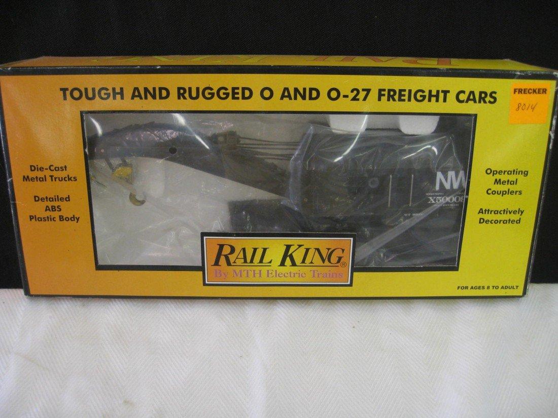 8014: Rail King Operating Crane Car