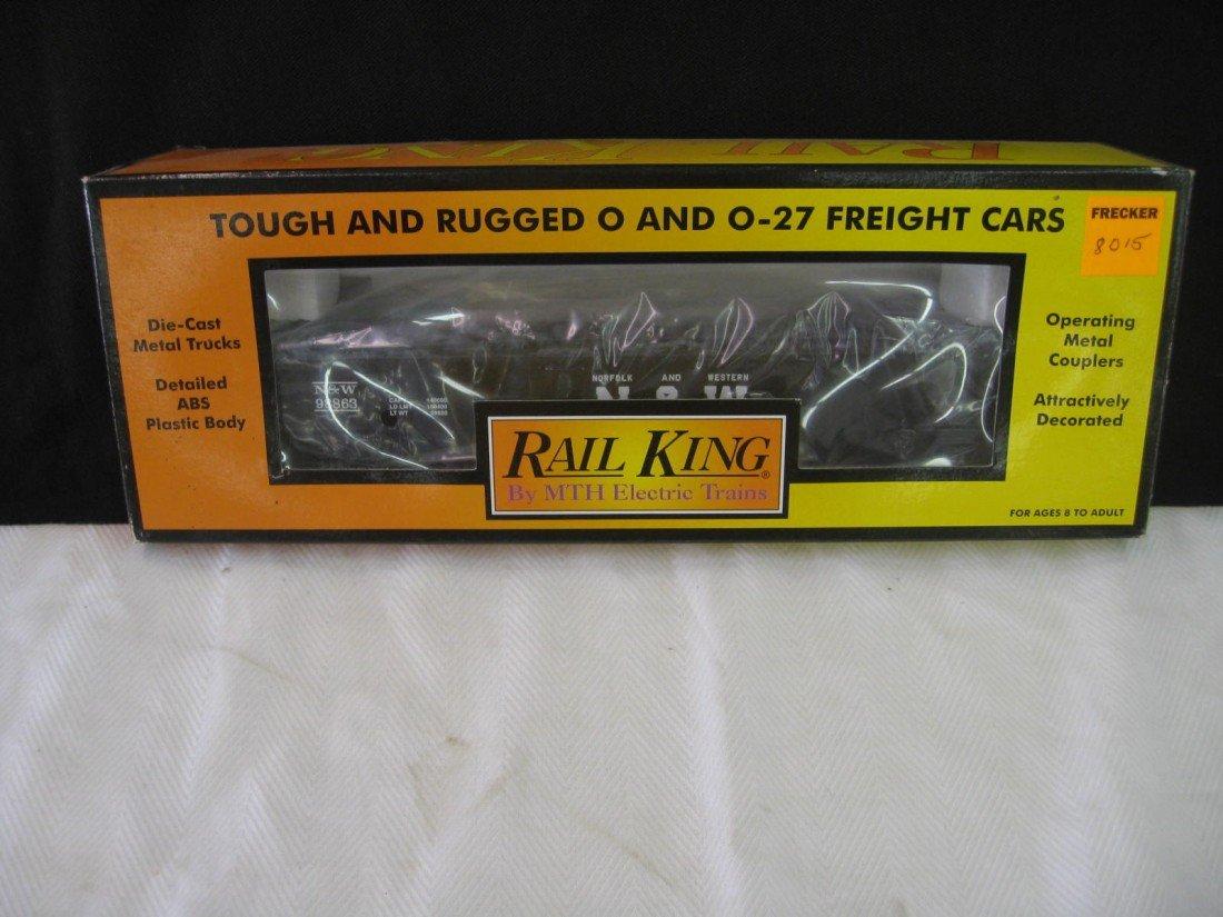 8015: Rail King Gondola Car w/ Junk Load