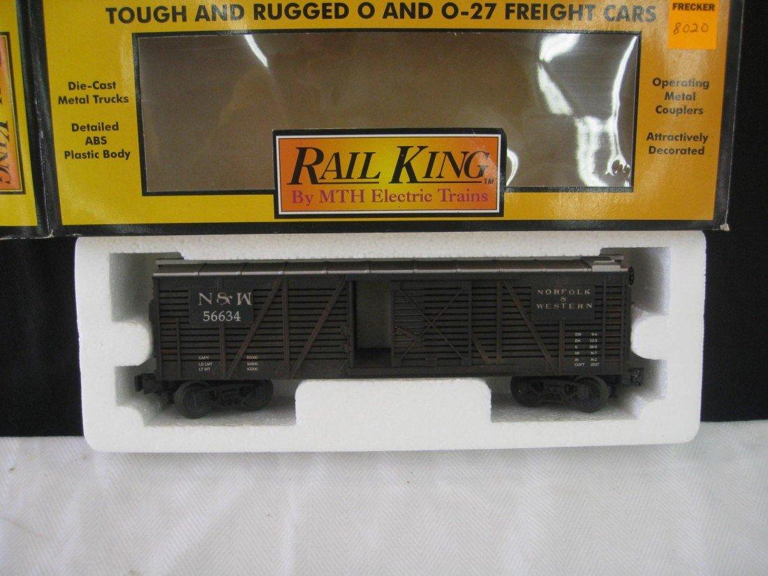 8020: Rail King Stock Car
