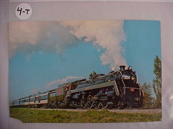 1004: Canadian National 6060 Postcard