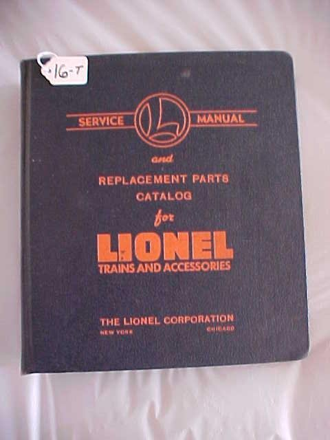 1016: Lionel Trains and Accessories Catalog