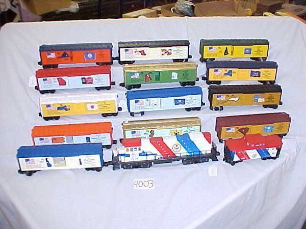4003: Lionel 1776-U-36-B + 13  Cars and Cab