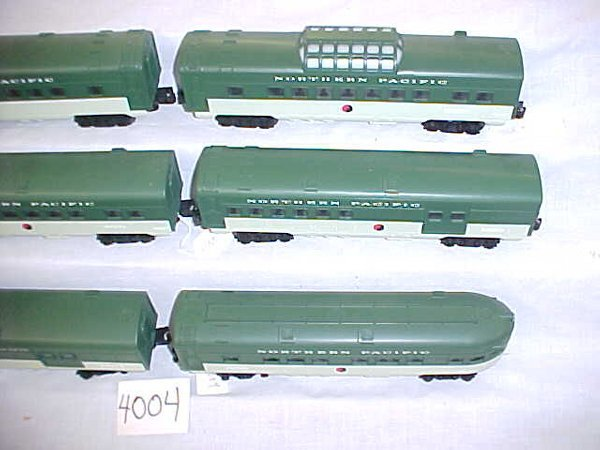 4004: Northern Pacific 90 - 91 6 car pass set