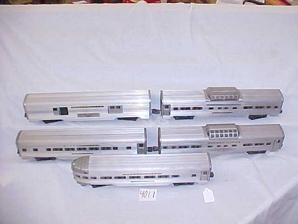 4011: Lionel Post War O-Gauge Passenger Set